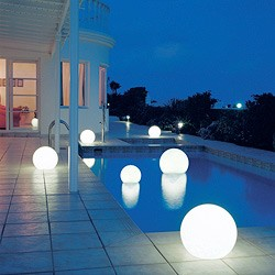 contemporary outdoor lights